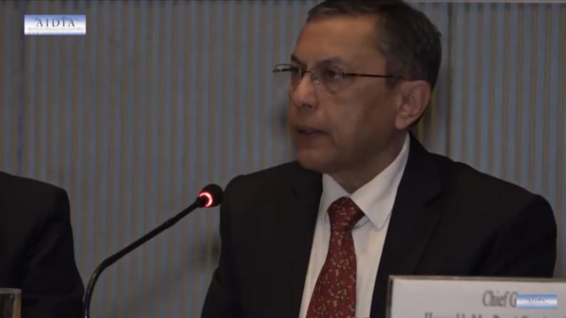 H.E. Mr Ranjit Rae at AIDIA event