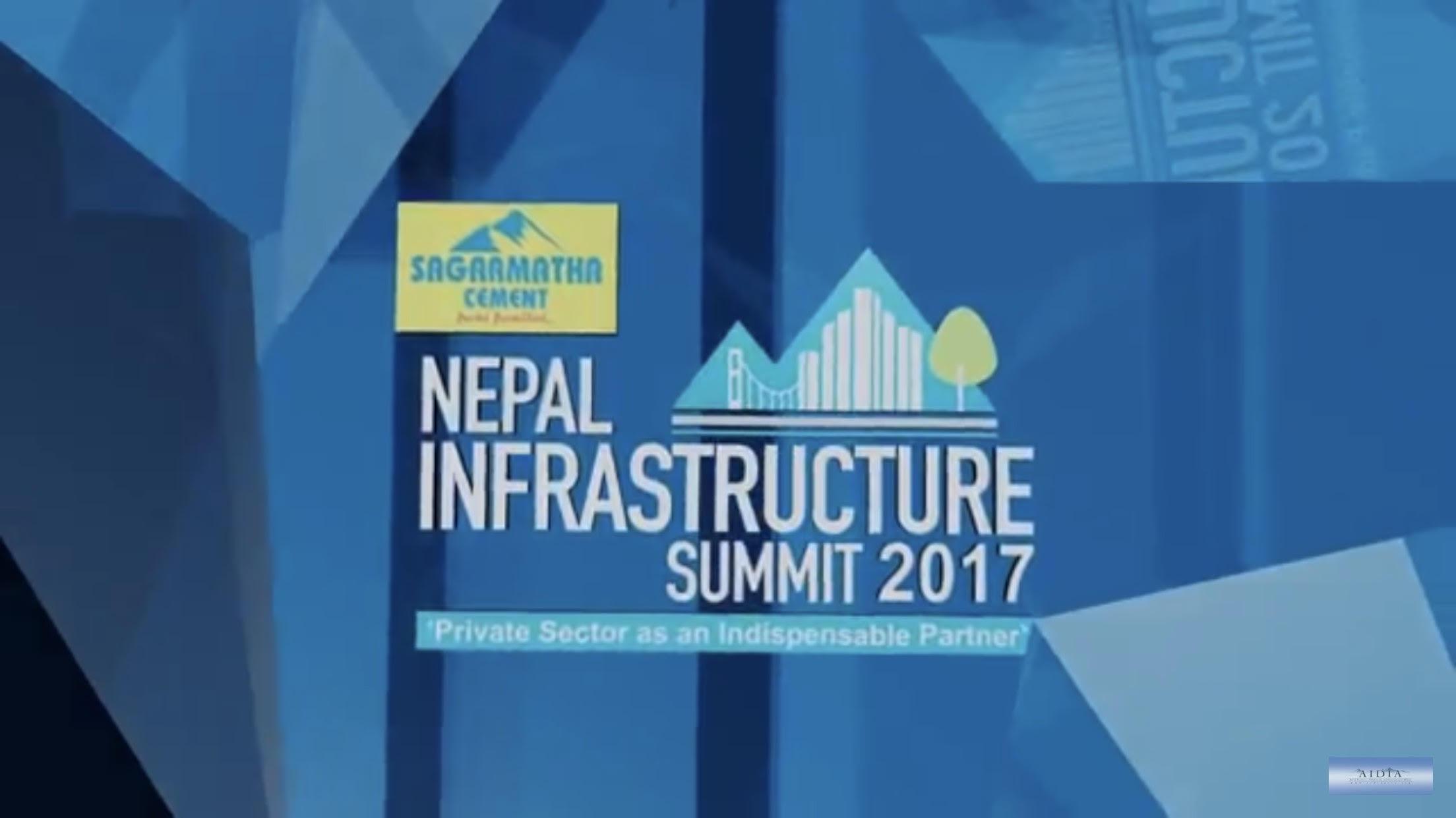 Nepal Infrastructure Summit (NIS) 2017 Report