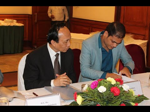 MOU Signing Ceremony between AIDIA and IFA, Ministry of Foreign Affairs- LAO PDR