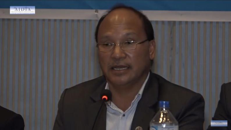 H E Mr Romi Gauchan Thakali, Minister for Commerce Speaking on PM Dahal India Visit