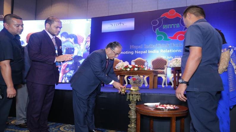 Inaugural Session of Nepal India Think Tank Summit 2018
