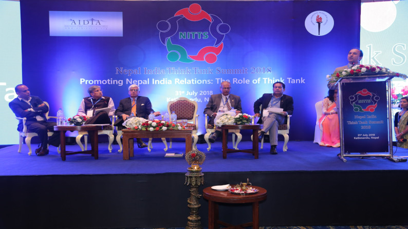 NITTS Session I in Building Innovative Cooperation between Indo-Nepal Think Tank: The Partnership